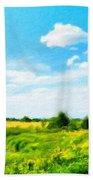 Nature Landscape Nature Beach Towel
