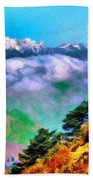 Types Of Landscape Nature Beach Towel