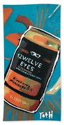 12welve Eyes Beach Towel