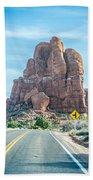 Arches National Park  Moab  Utah  Usa Beach Towel
