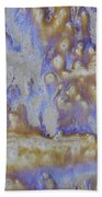 13. Cascade Brown Glaze Painting Beach Towel