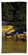 Climber Rescue Operation In Yosemite Beach Sheet