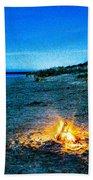 Full Moon Bastendorff Beach Towel