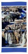 Great Falls Of The Potomac Beach Towel