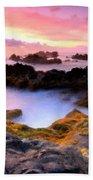 Scenery Oil Paintings On Canvas Beach Towel