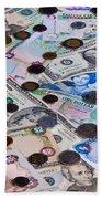 Travel Money - World Economy Beach Towel
