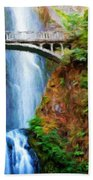 Landscape Nature Art Beach Towel