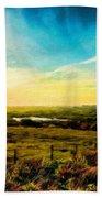 Landscape Nature Scene Beach Towel