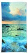 Art Landscape Nature  Beach Towel