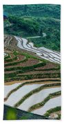 Longji Terraced Fields Scenery Beach Sheet