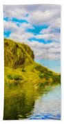 Nature Cool Landscape Beach Towel