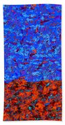 1380 Abstract Thought Beach Towel