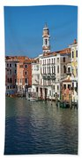 1399 Venice Grand Canal Beach Towel