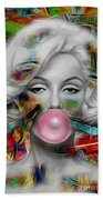 Marilyn Monroe Collection Beach Towel