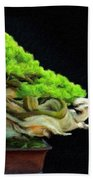 Landscape Nature Drawing Beach Towel