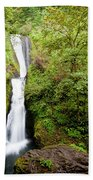 1418 Bridal Veil Falls Beach Towel