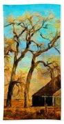 Nature Landscape Painting Beach Towel
