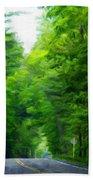 Nature Art Original Landscape Paintings Beach Towel