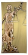 Law Office Collection Beach Towel