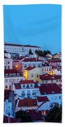 Lisbon, Portugal Beach Towel