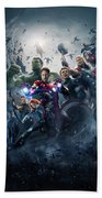 The Avengers Age Of Ultron 2015  Beach Towel