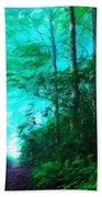 Nature Landscape Oil Beach Towel
