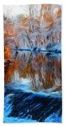 Landscape Nature Pictures Beach Towel