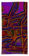 1554 Abstract Thought Beach Sheet