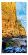 Landscape Pictures Nature Beach Towel