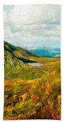 Landscape Art Nature Beach Towel