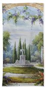 Italian Historical Villas Beach Towel