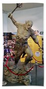 New Zealand - Azog, Lord Of The Rings Beach Towel