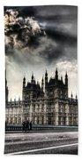 Westminster Bridge London Beach Towel