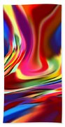 1697 Abstract Thought Beach Towel