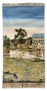 Battle Of Lexington, 1775 Beach Towel