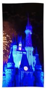 Cinderella Castle Beach Towel