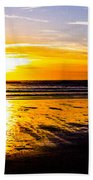 Sunset Bay Beach Beach Towel