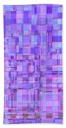 1704 Abstract Thought Beach Sheet