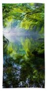 Nature Oil Paintings Landscapes Beach Towel