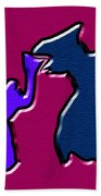 1771 Abstract Thought Beach Towel