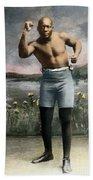 Jack Johnson, 1878-1946 Beach Towel