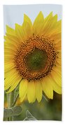 Nice Sunflower Beach Towel