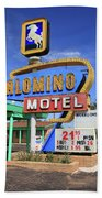 Route 66 - Tucumcari New Mexico Beach Towel