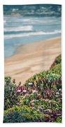 Western Usa Pacific Coast In California Beach Towel