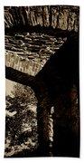 1833 Ruins Beach Towel