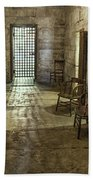 1859 Jail Beach Towel