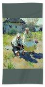1893 Sergey Vinogradov Beach Towel