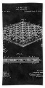 1896 Chessboard Patent Beach Towel