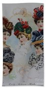 19 Century Ladies Hats The Delineator Early Autumn Hats Beach Towel