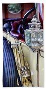 1913 Rolls Royce Silver Ghost Detail Beach Towel